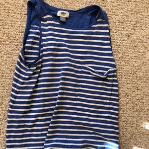 stripped old navy tank top